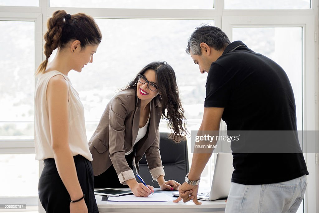 real estate office : Stock Photo