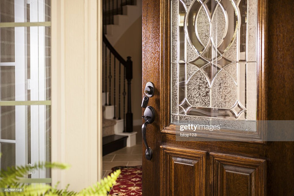house front door open. Real Estate: Open Front Door, Upscale Modern Home. House Door Open I
