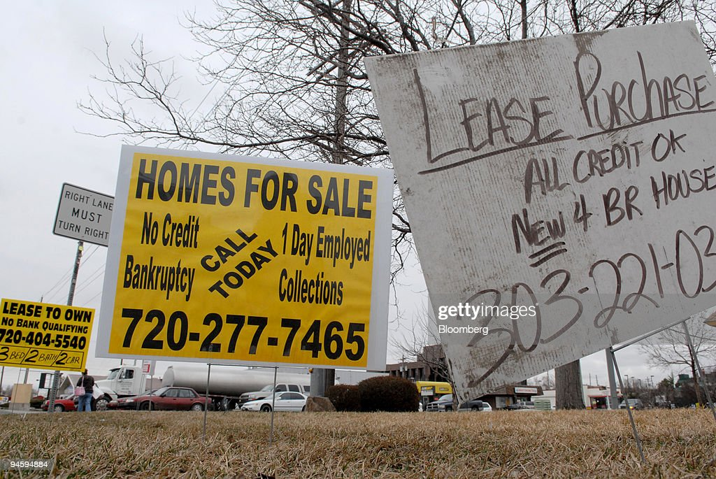 Real estate signs advertising