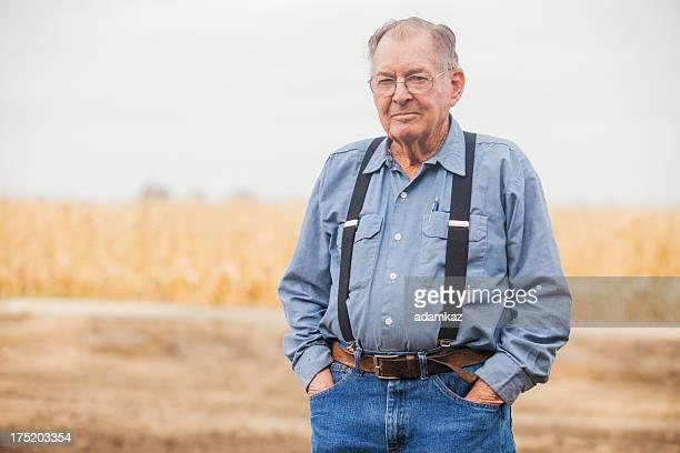 Real Farmer Looking at camera