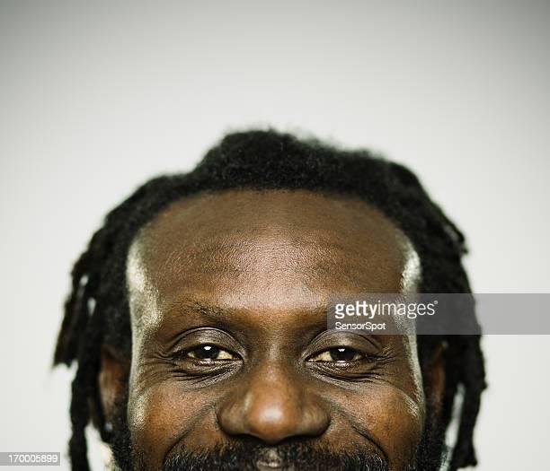 Real happy man