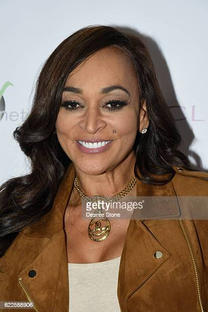 Real Housewife Karen Huger attends Bowling To Feed Families For Thanksgiving at PINZ Bowling Entertainment Center on November 11 2016 in Studio City...