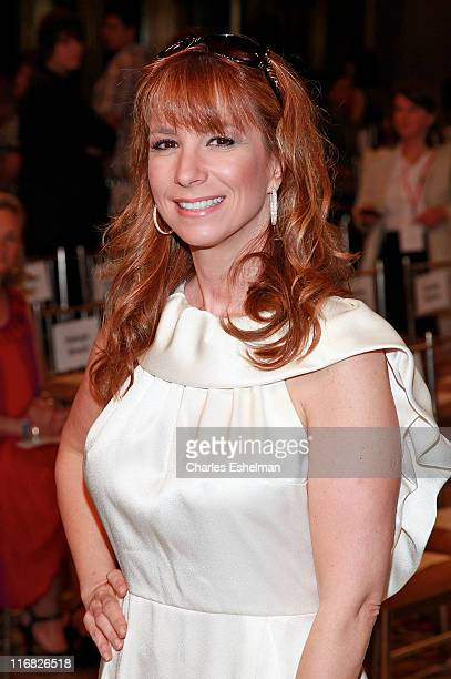 Real Housewife of New York City Jill Zarin attends the finale of Bravo's 'The Fashion Show' at Cipriani Wall Street on June 26 2009 in New York City