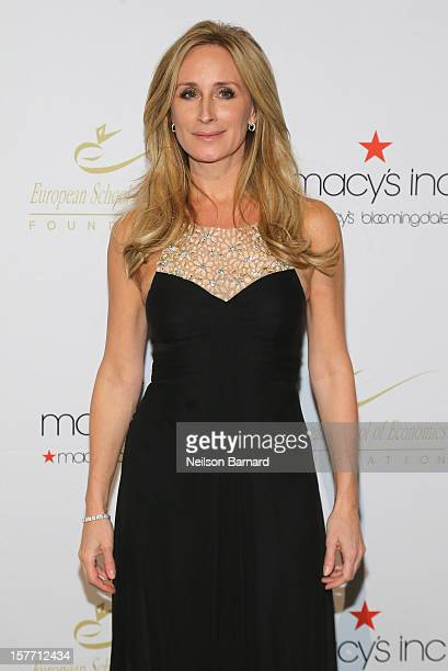 Real Housewife Sonja Morgan attends European School Of Economics Foundation Vision And Reality Awards on December 5 2012 in New York City