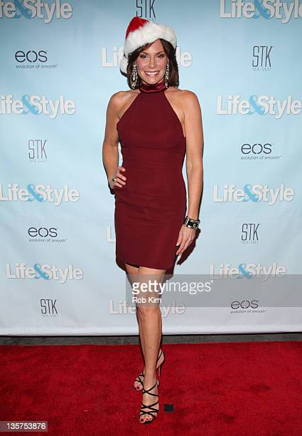Real Housewives' Countess LuAnn De Lesseps hosts the Life Style Holiday party at STK Midtown 13 2011 in New York City
