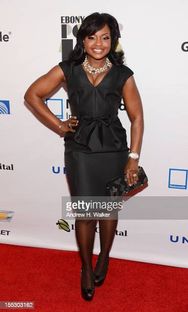 Real Housewives of Atlanta's Phaedra Parks attends the Ebony Power 100 Gala at Jazz at Lincoln Center on November 2 2012 in New York City