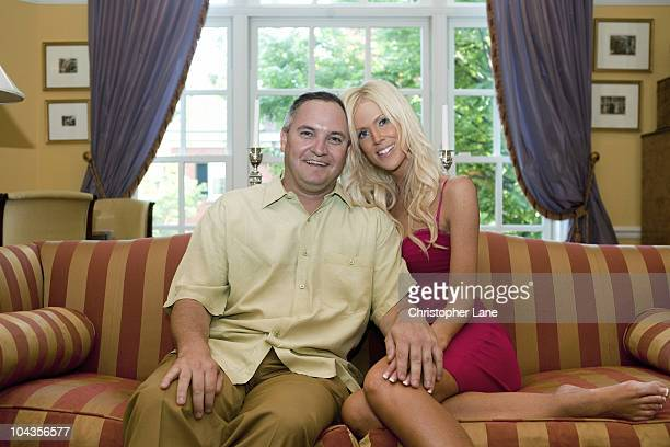 Real Housewives of DC housewife and her husband Michaele Salahi and Tareq Salahi are photographed for a Self Assignment