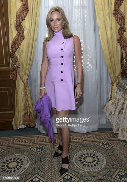 'Real Housewives of New York' star Sonja Morgan attends the 2015 New York Society For The Prevention Of Cruelty To Children Spring Luncheon at The...