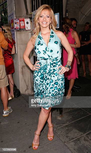 """""""Real Houswives of New Jersey,"""" Dina Manzo attends a special benefit performance of """"My Big Gay Italian Wedding"""" to promote marriage equality at St...."""