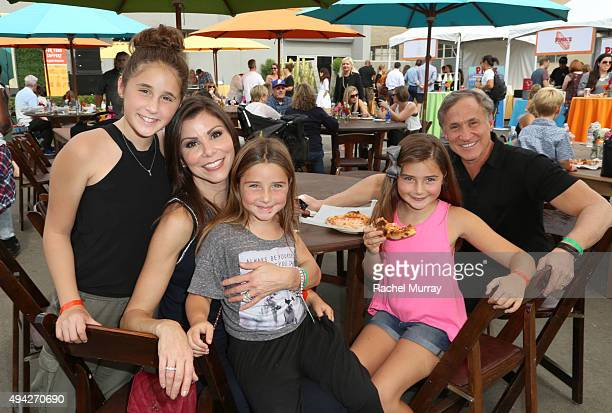 Real Houswives of Orange County's Heather Dubrow husband Terry Dubrow and their children attend the Elizabeth Glaser Pediatric AIDS Foundation 26th...