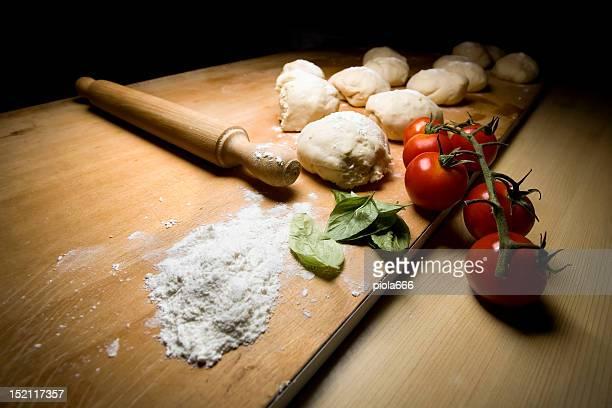 Auténtica Pizza italiana ingredientes