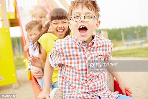 gioia reale - solo bambini foto e immagini stock