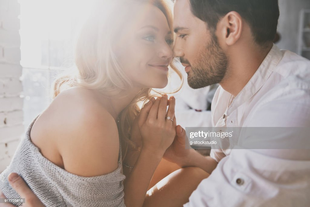 Real love. : Stock Photo