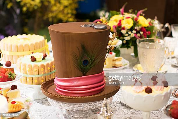 A real Mad Hatter cake at the Alice Through the Looking Glass The Pop Up will be open to the public for one week leading up to the May 27th release...