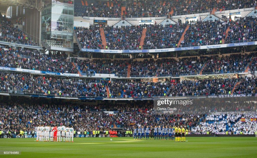Real Madrid v Deportivo Alaves - La Liga : News Photo
