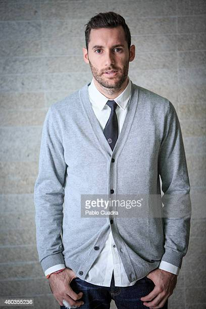 Real Madrid basketball player Rudy Fernandez is photographed for Self Assignment on November 20 2014 in Madrid Spain