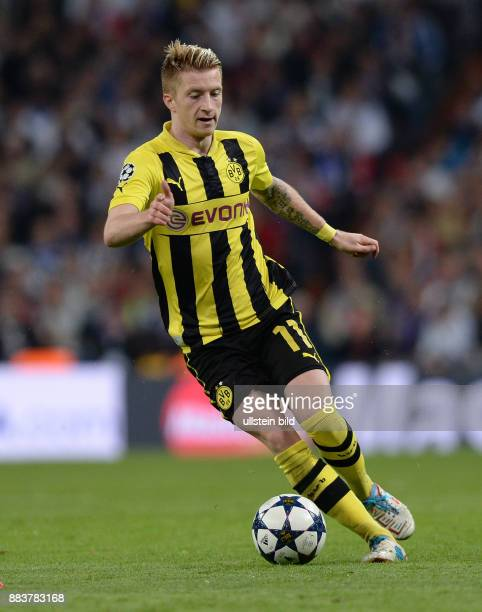 FUSSBALL CHAMPIONS Real Madrid Borussia Dortmund Marco Reus Einzelaktion am Ball