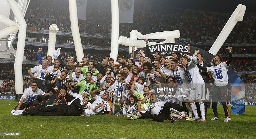 Real Madrid Celebration After UEFA Champions League Final : News Photo