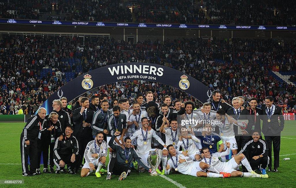 Real Madrid v Sevilla FC - UEFA Super Cup : News Photo