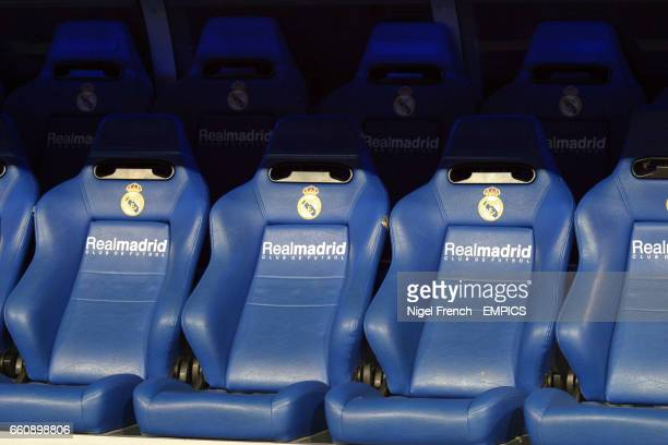 Pleasant Real Madrid Dug Out At The Santiago Bernabeu News Photo Beatyapartments Chair Design Images Beatyapartmentscom