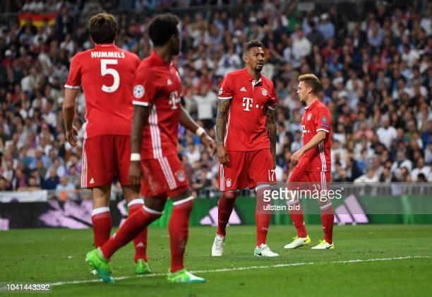 Real Madrid FC Bayern Muenchen Mats Hummels David Alaba Jerome Boateng und Joshua Kimmich