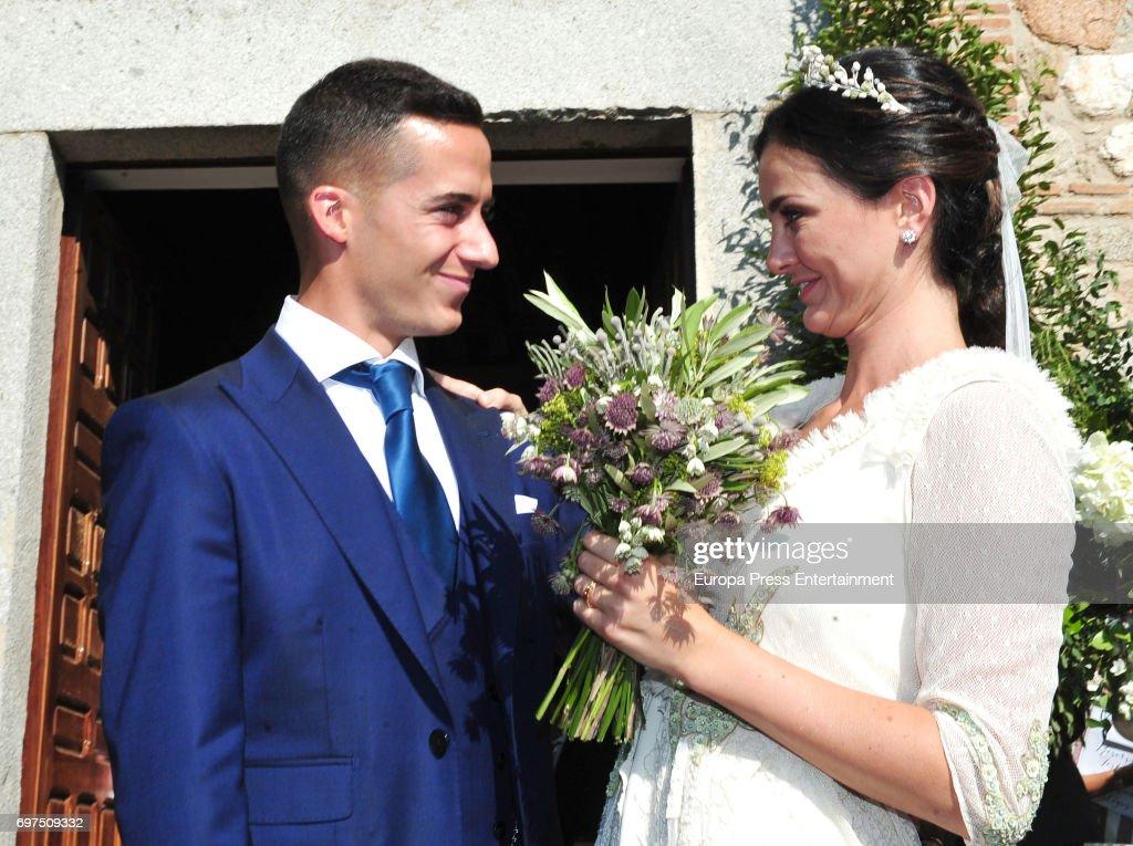 Lucas Vazquez and Macarena Rodriguez's Wedding