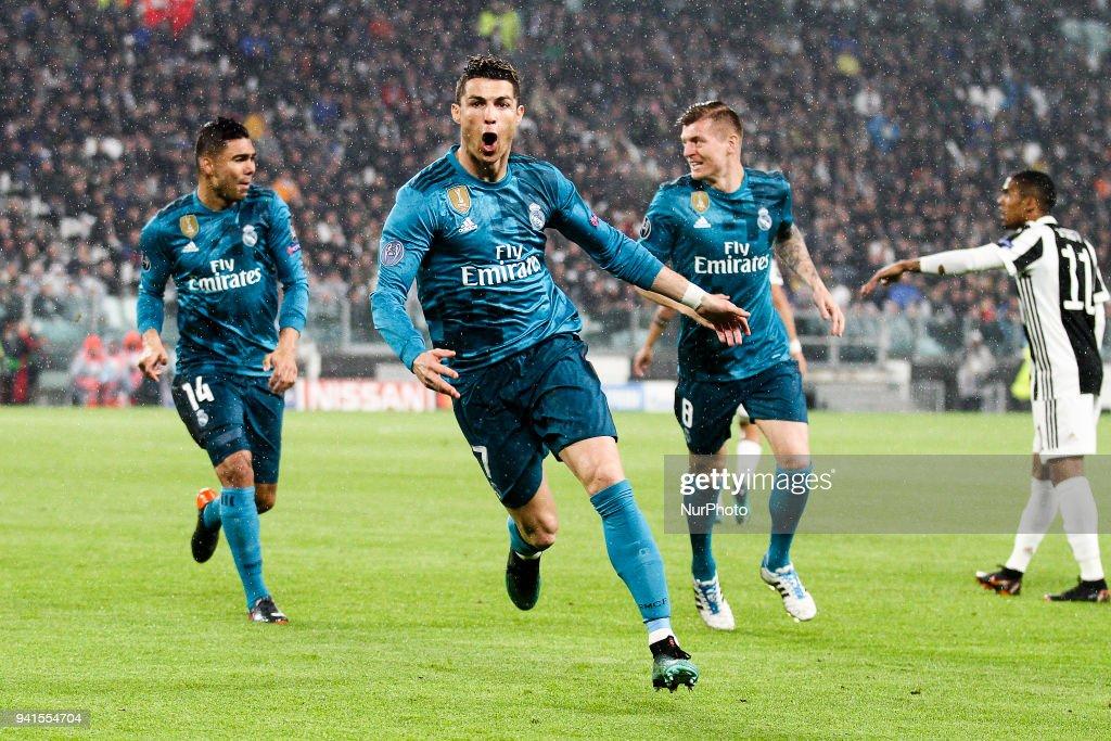 Juventus v Real Madrid - UEFA Champions League Quarter Final Leg One : News Photo
