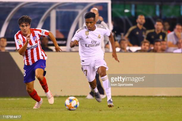 Real Madrid forward Rodrygo Goes during the International Champions Cup game between Real Madrid and Atletico Madrid on July 26 2019 at MetLife...