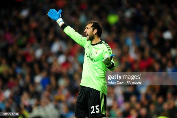 Real Madrid goalkeeper Diego Lopez