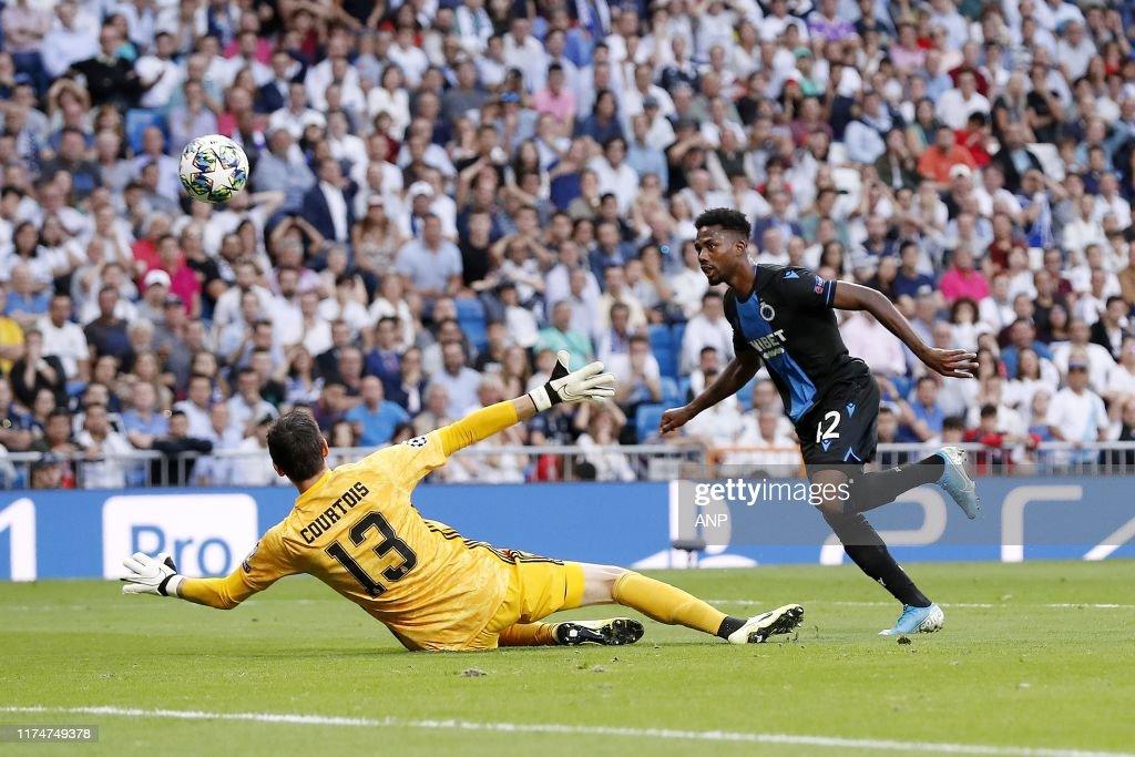 "UEFA Champions League""Real Madrid v Club Brugge"" : News Photo"