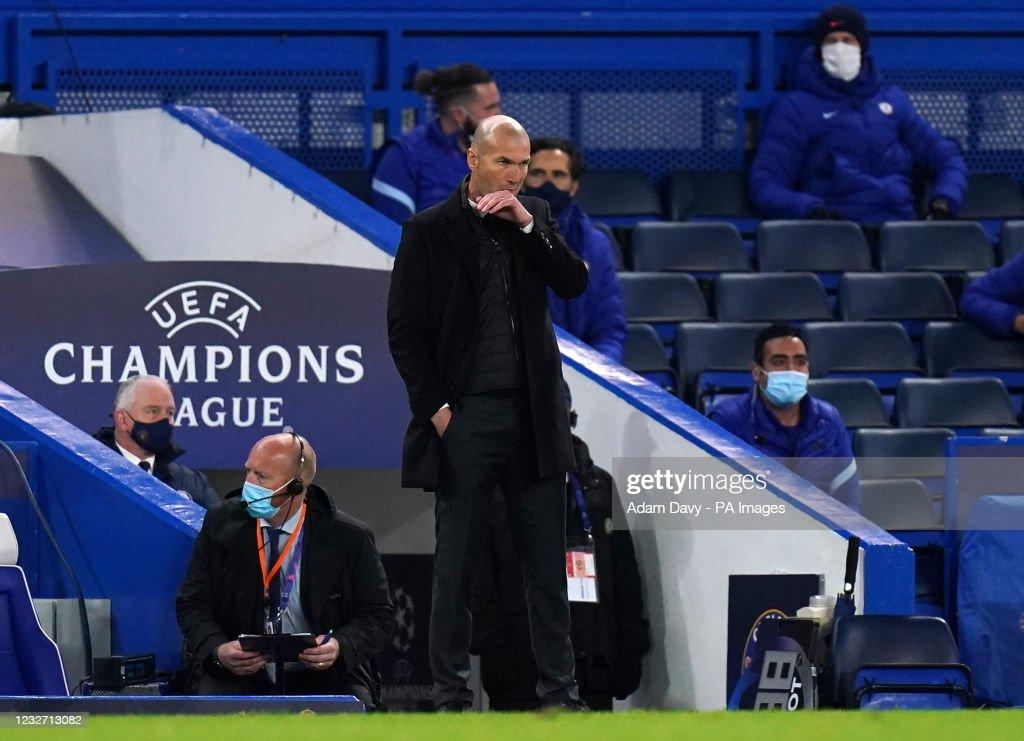 Chelsea v Real Madrid - UEFA Champions League - Semi Final - Second Leg - Stamford Bridge : News Photo