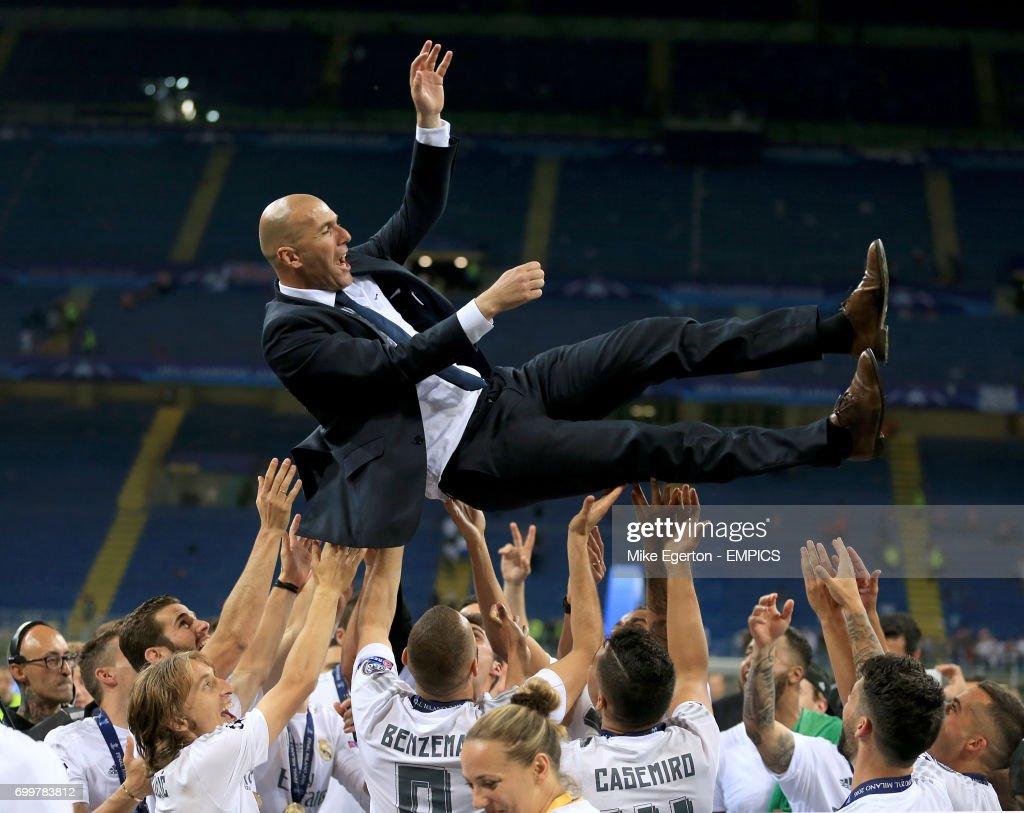 Real Madrid v Atletico Madrid - UEFA Champions League - Final - San Siro : ニュース写真