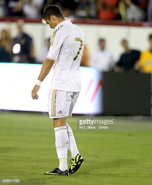 Real Madrid player Cristiano Ronaldo during the Herbalife World Football Challenge Friendly match between LA Galaxy and Real Madrid Real Madrid won...