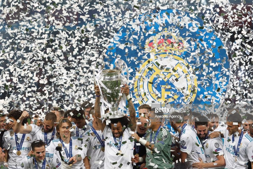 Real Madrid wins UEFA Champions League title : News Photo