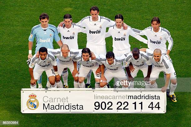136 Real Madrid Lineup Photos And Premium High Res Pictures Getty Images