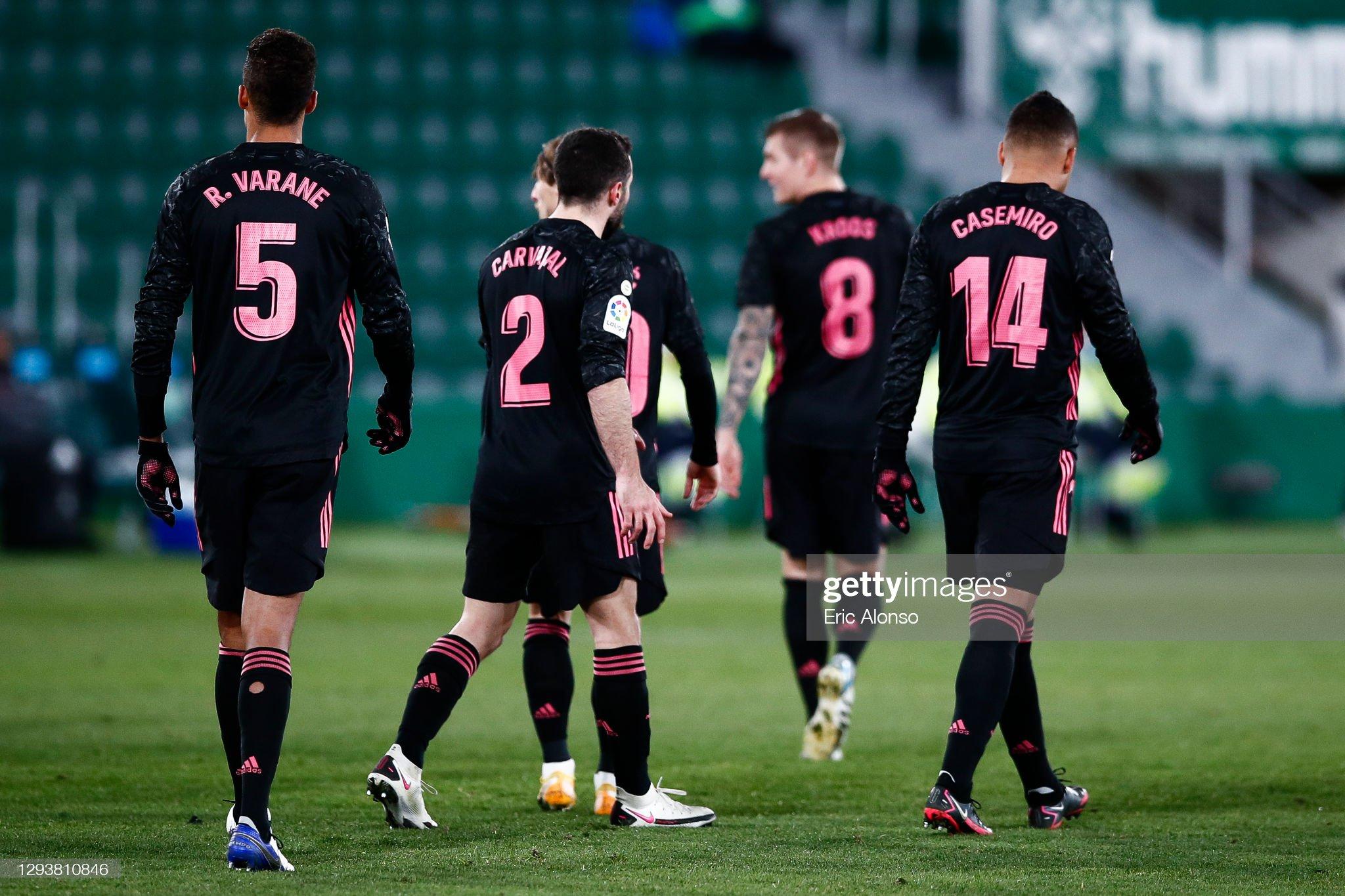 Elche CF v Real Madrid - La Liga Santander : ニュース写真