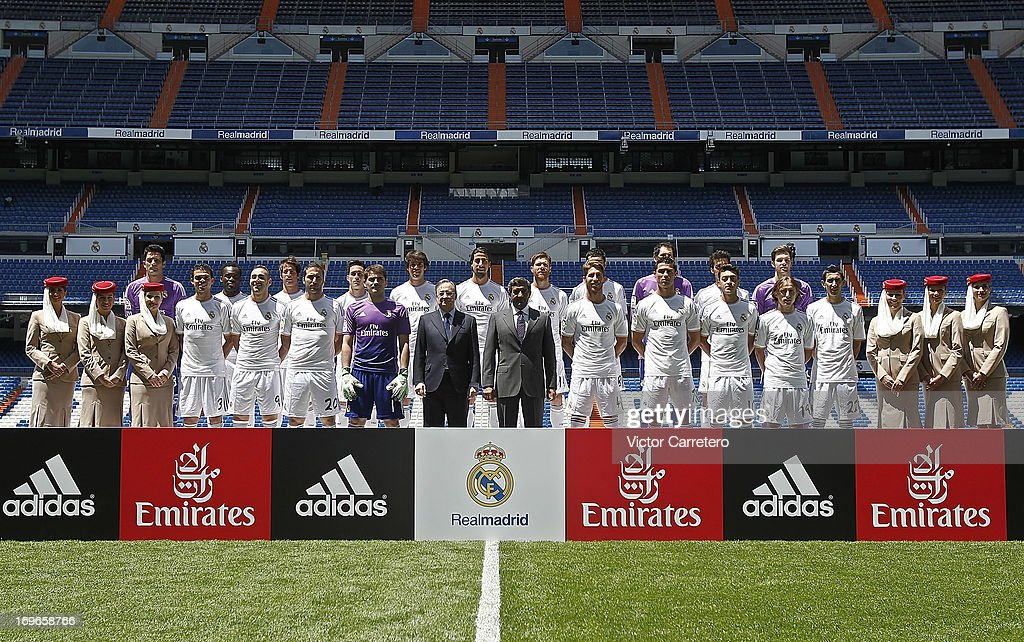 Real Madrid Present New Sponsor And New Shirt