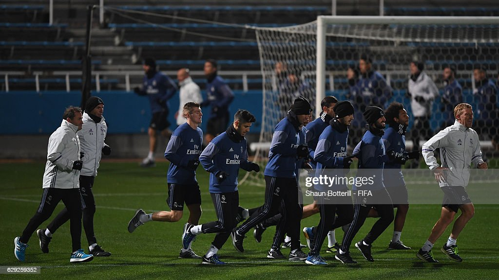 FIFA Club World Cup - Real Madrid Training : News Photo