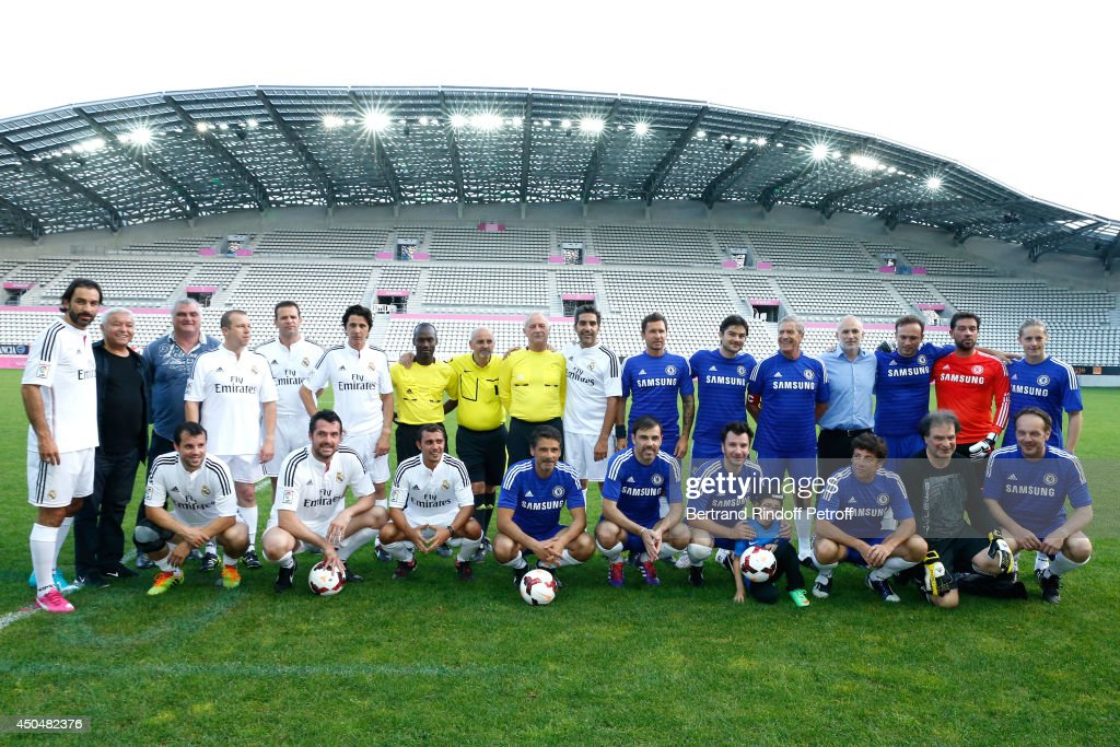 "Football Match For The Benefit Of The Association ""Plus Fort La Vie"" In Paris"