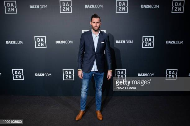 Real Madrid's Basketball player Rudy Fernandez attends DAZN 1st anniversary event at Callao Cinema on February 27, 2020 in Madrid, Spain.