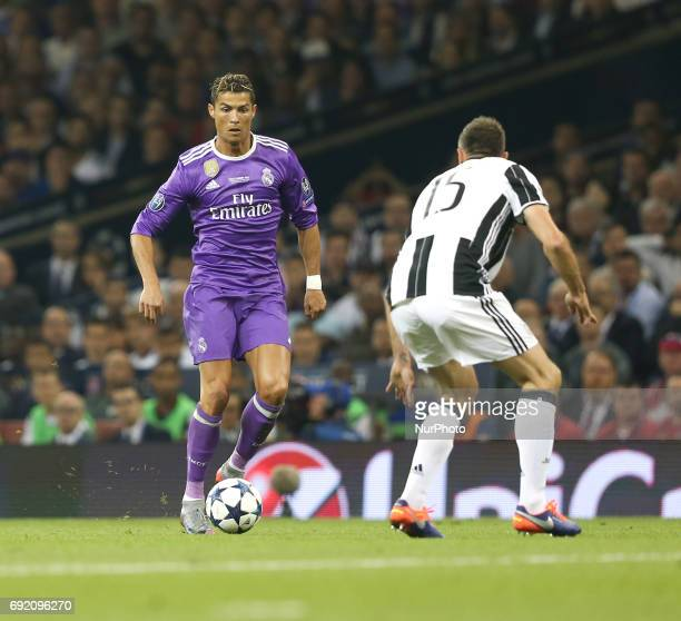 Real Madrid's Cristiano Ronaldo during the 2016/17 UEFA Champions League final match between Juventus and Real Madrid