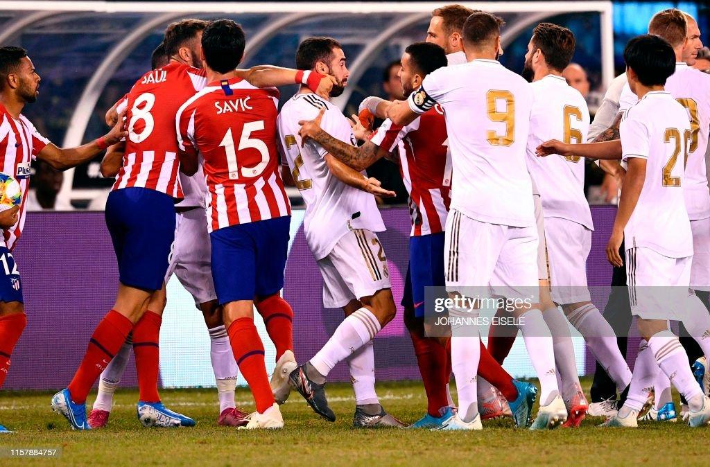 FBL-USA-ICC-REAL-MADRID-ATLETICO : Fotografía de noticias