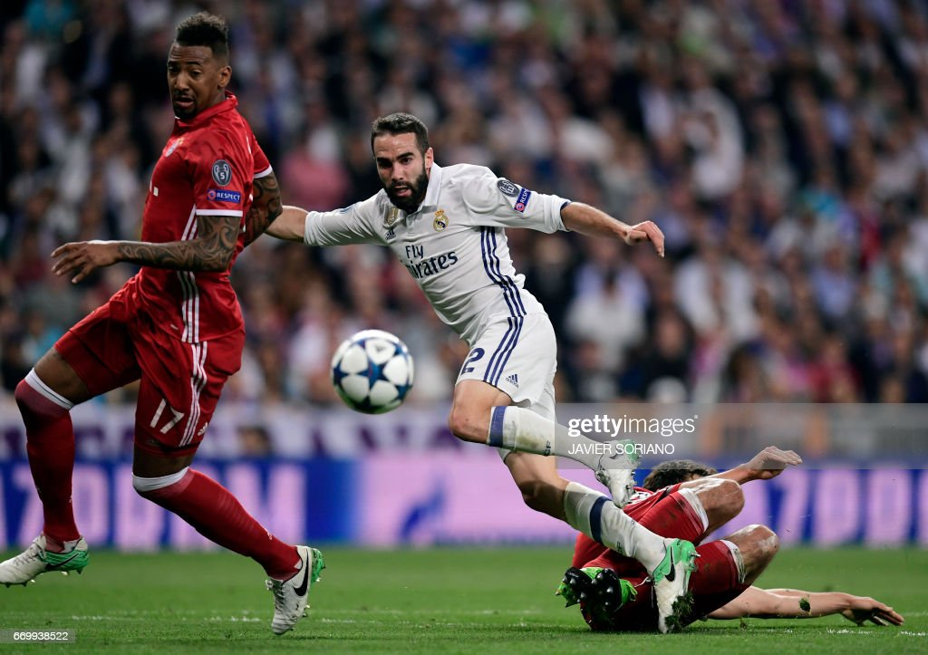 FBL-EUR-C1-REALMADRID-BAYERN MUNICH : News Photo
