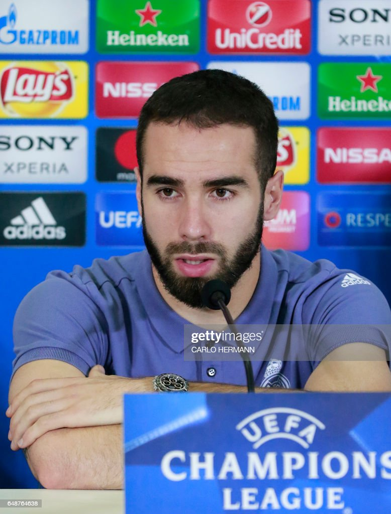FBL-EUR-C1-REAL MADRID-PRESSER : News Photo