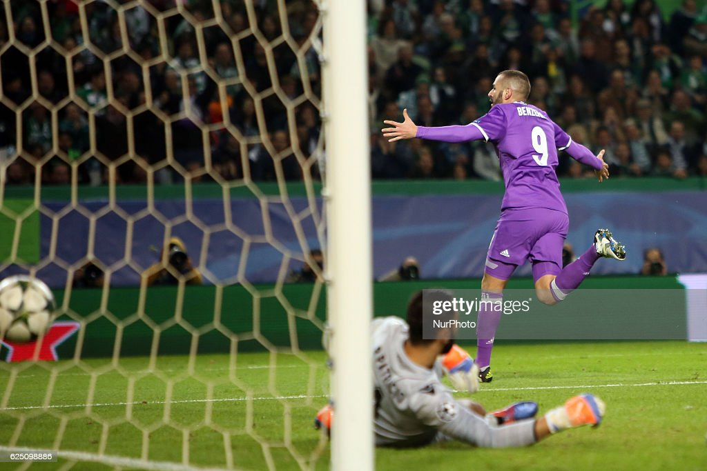 Sporting Clube de Portugal v Real Madrid CF - UEFA Champions League : News Photo