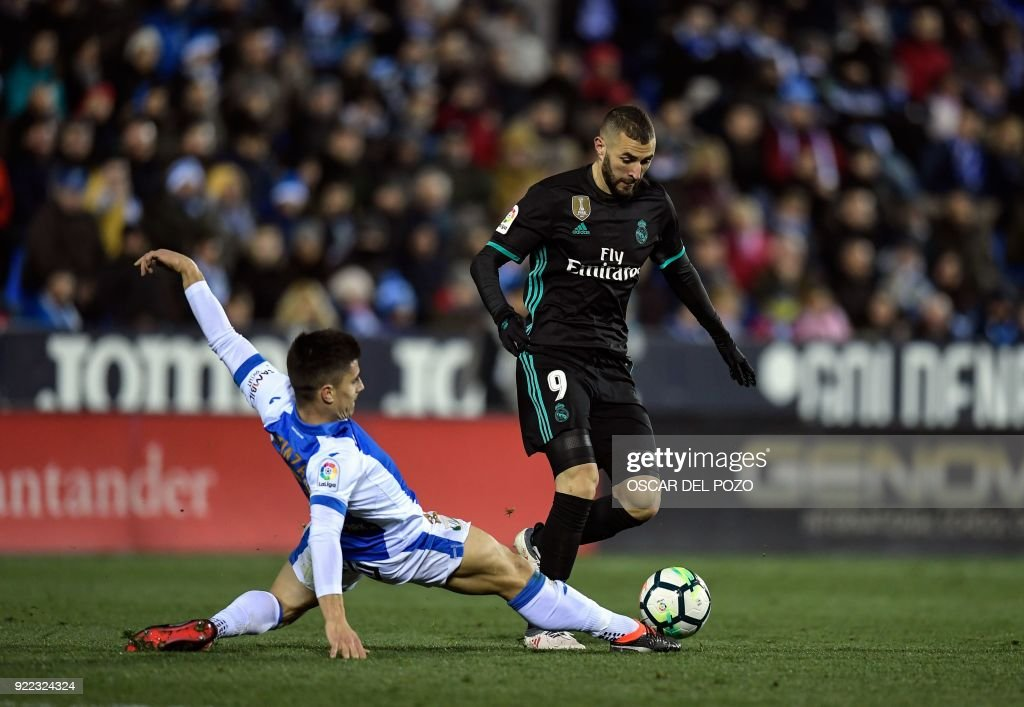 FBL-ESP-LIGA-LEGANES-REALMADRID : News Photo