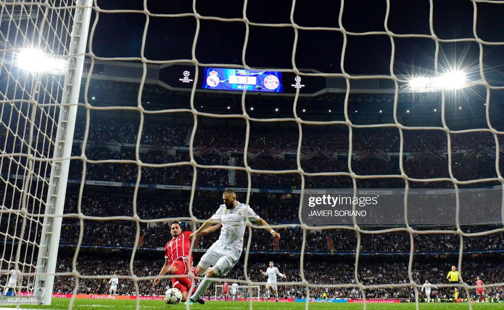 FBL-EUR-C1-REAL MADRID-BAYERN MUNICH : News Photo