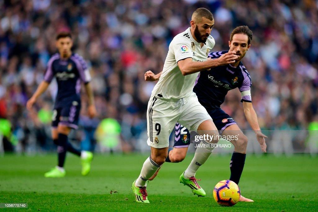 ESP: Real Madrid CF v Real Valladolid CF - La Liga