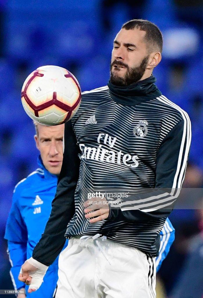 ESP: Getafe CF v Real Madrid CF - La Liga