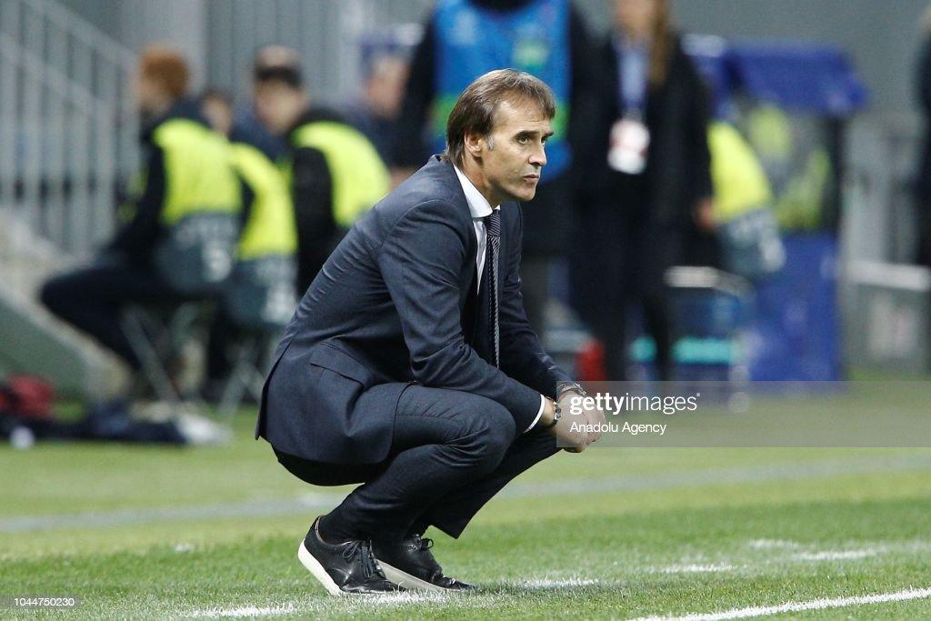 CSKA Moscow vs Real Madrid  - UEFA Champions League : Nachrichtenfoto